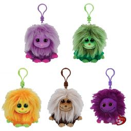 TY Frizzys Toys Plush Trading Cards