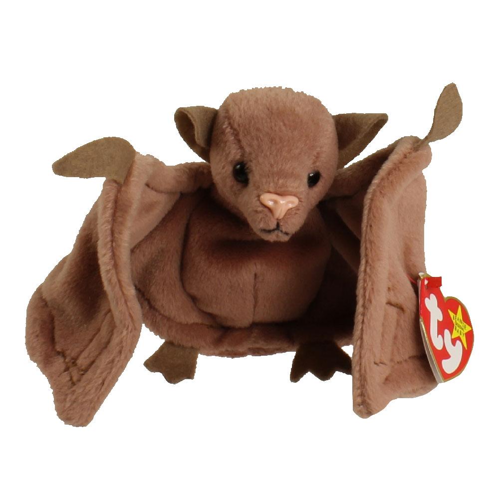 TY Beanie Baby BATTY The Bat Brown Version 45 Inch