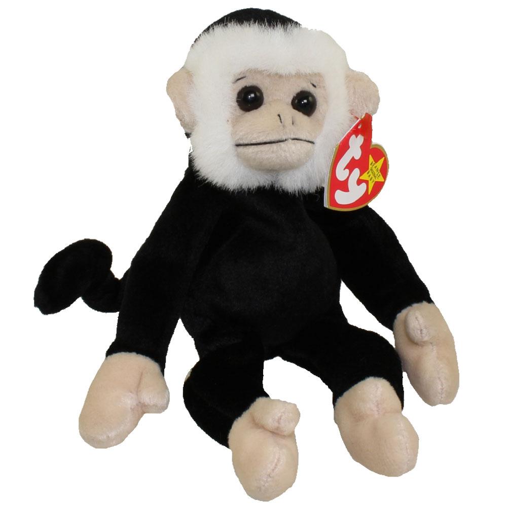 TY Beanie Baby MOOCH The Spider Monkey 9 Inch