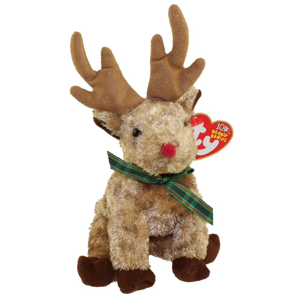 TY Beanie Baby RUDY The Reindeer 65 Inch BBToyStore