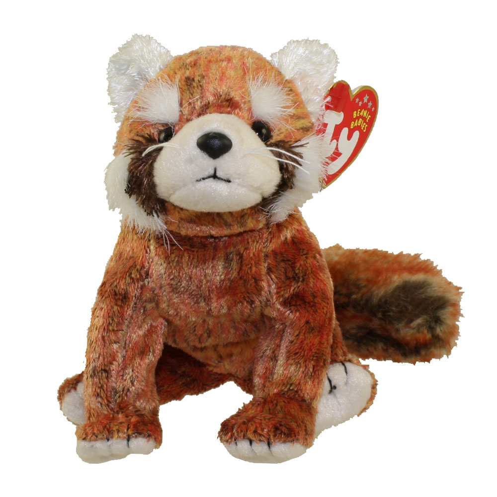 TY Beanie Baby RUSTY The Red Panda 55 Inch