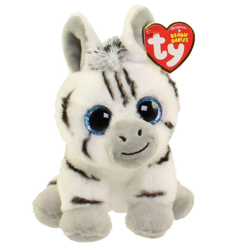 TY Beanie Baby STRIPES The Zebra 6 Inch BBToyStore
