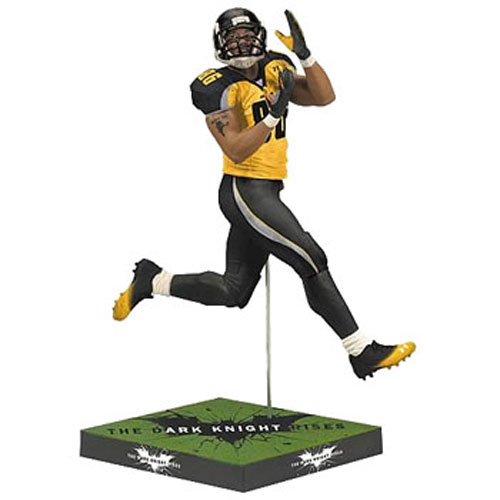 McFarlane Toys Action Figure - Dark Knight Rises - HINES WARD (Gotham Rogues)
