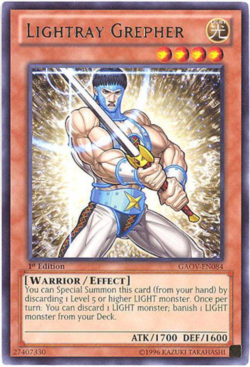 Yu-Gi-Oh Card - GAOV-EN084 - LIGHTRAY GREPHER (rare)