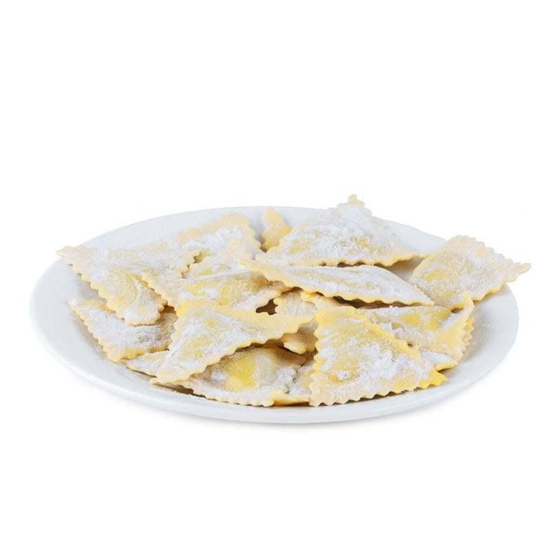 Ravioli con formaggio bagoss artigianali
