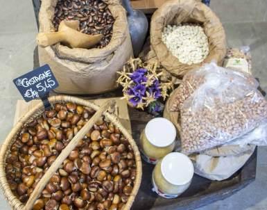 Castagne e prodotti tipici di montagna a Bagolino