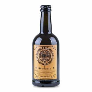Etichetta birra artigianale Franciacorta ambrata Curtense