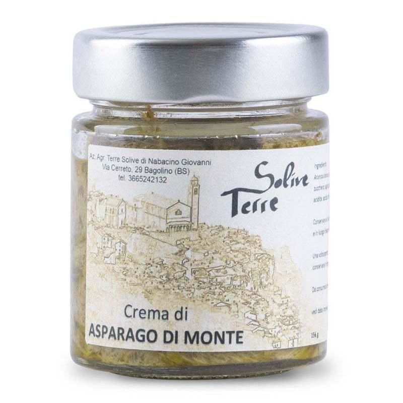 Crema di asparago selvatico di monte di Bagolino