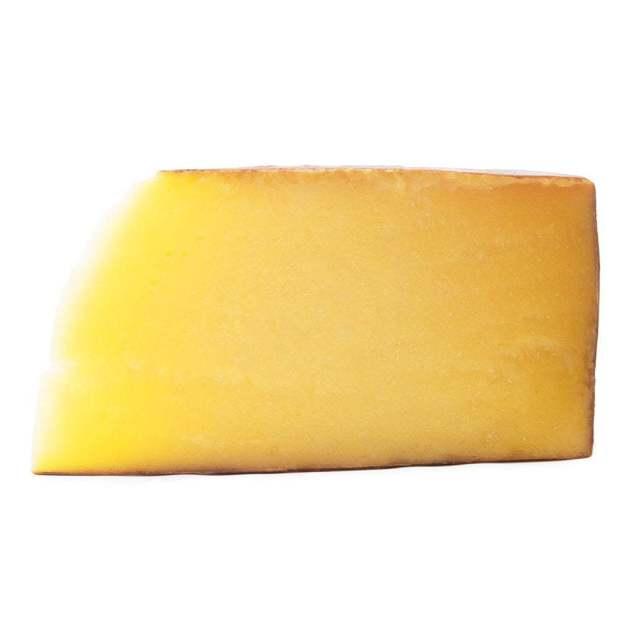 Fetta di formaggio Bagòss di Bagolino