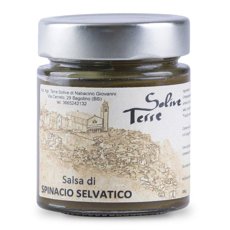 Salsa di spinacio selvatico di Bagolino