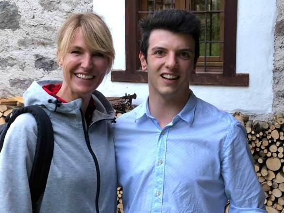Ellen Hidding conduttrice di Melvarde e Mattia Apostoli fondatore di Bbuono