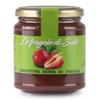 Marmellata confettura alle fragole di Salò del Garda