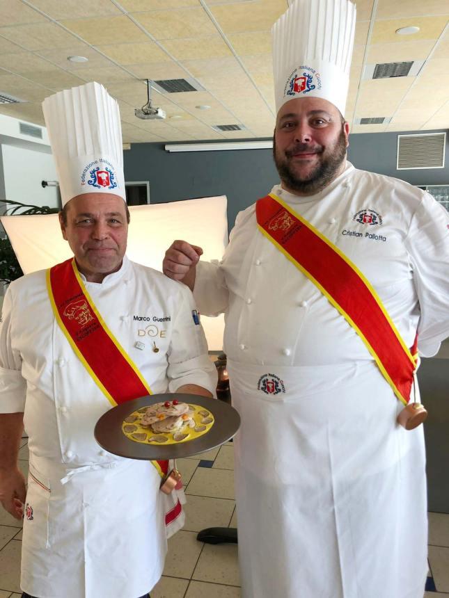 Marco Guerrini e Cristian Pallotta chef della federazione italiana cuochi