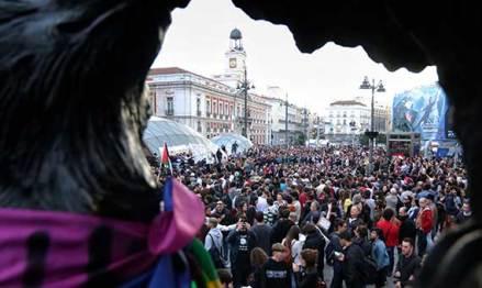 15 de Mayo de 2016, Plaza de la Puerta el Sol, Madrid/ Imagen: DnTrotaMundos