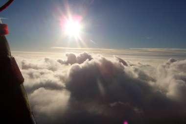 über den Wolken?