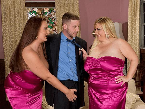 bbw threesome pornstars XXX