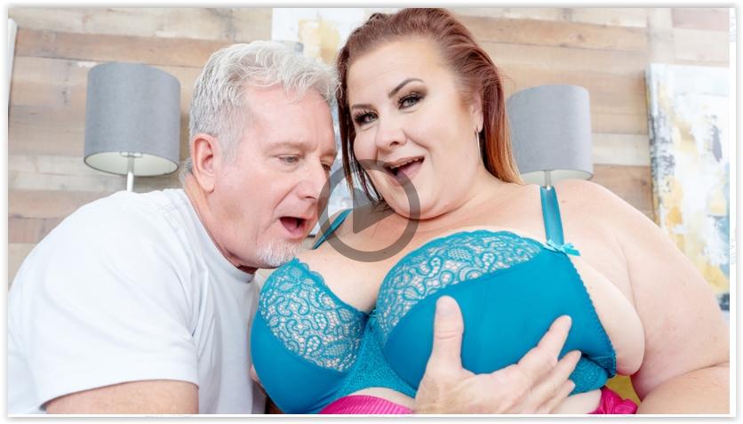 BBW Lady Lynn mature big boobs porn XXX video