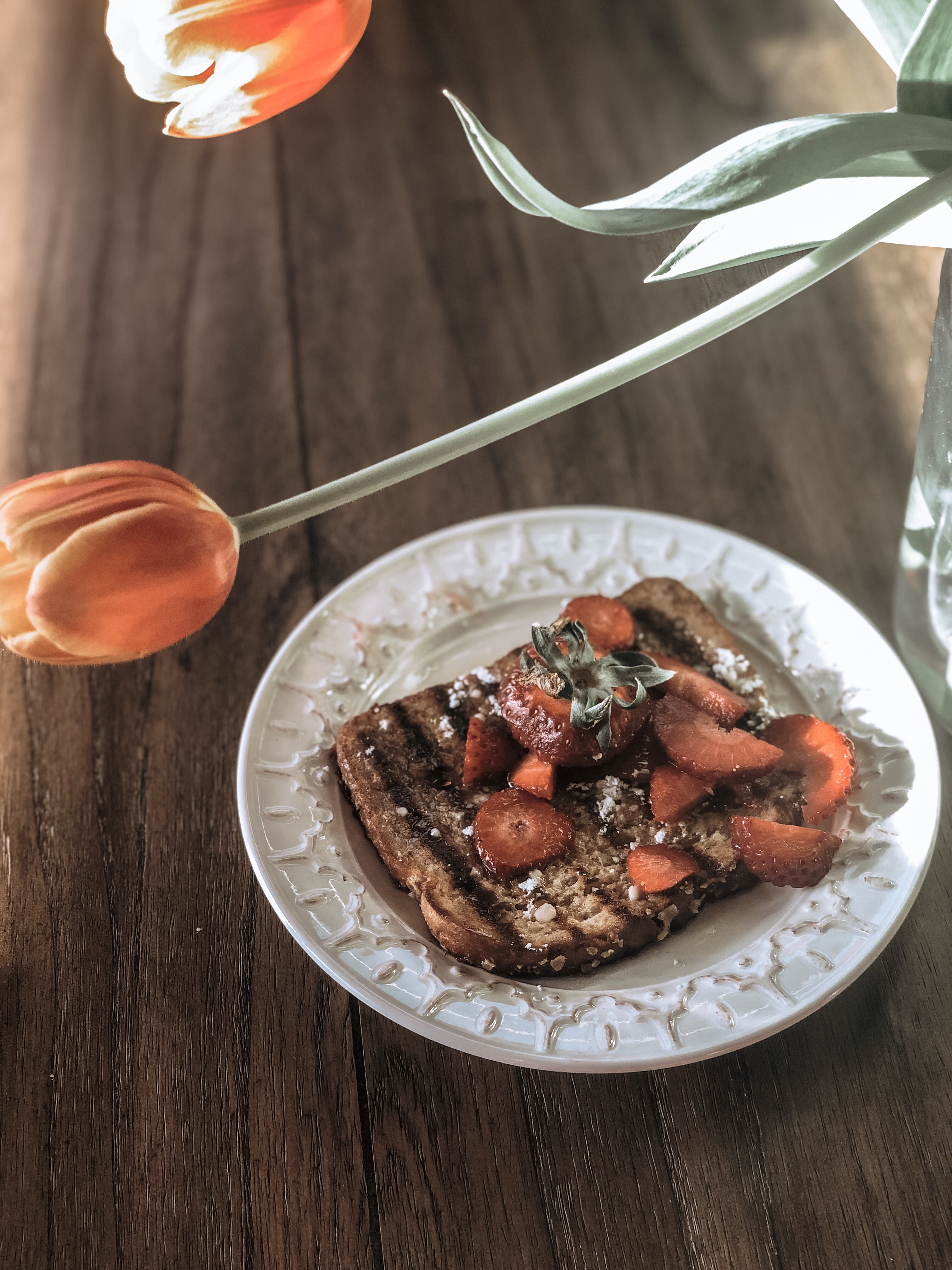 Mother's Day French Toast, Orange Whipped Cream and Wine Pairing