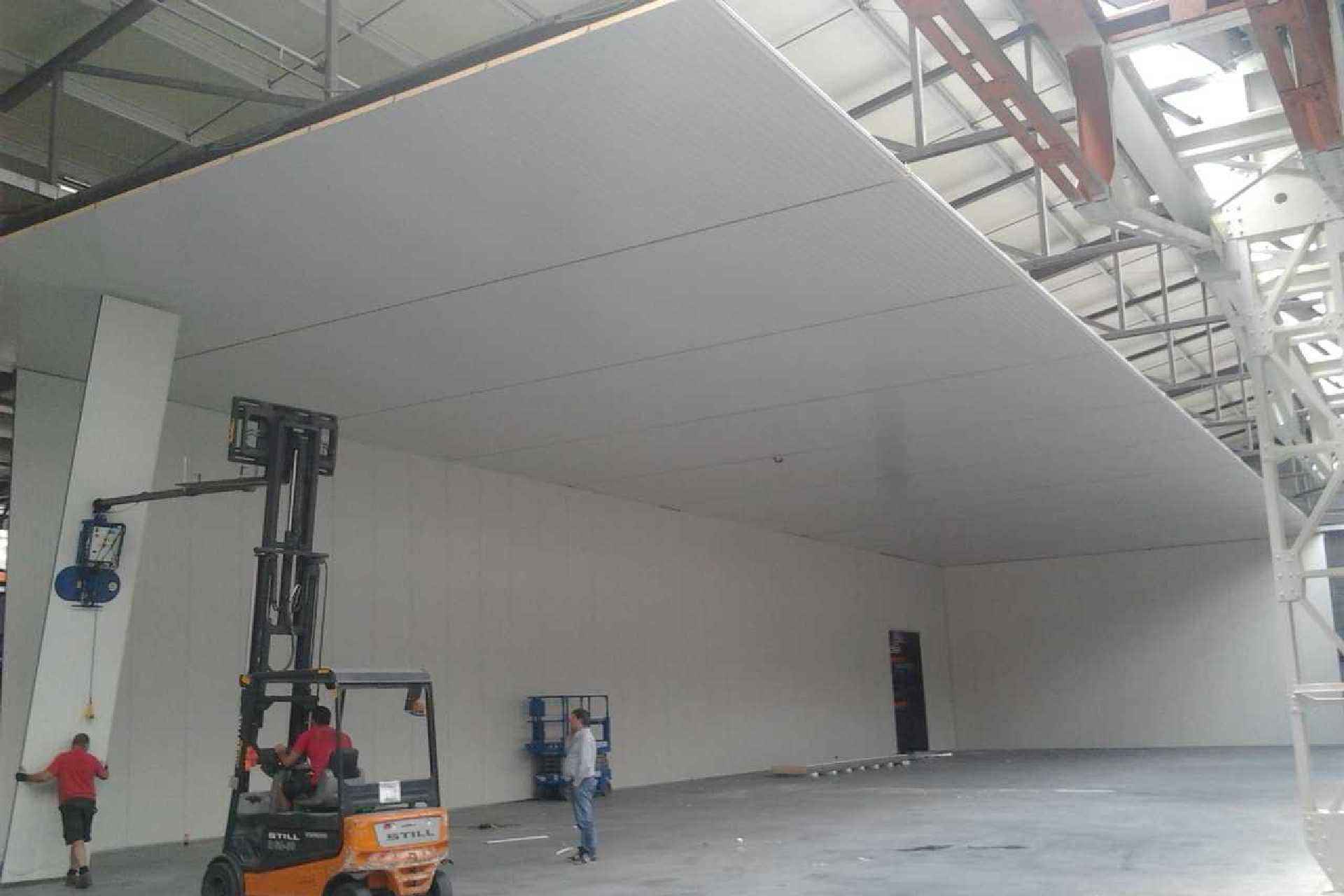 Dhollandia Lokeren Renovatie Loods Bc Construct