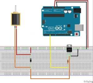 Controlling A Solenoid Valve With Arduino  BC Robotics
