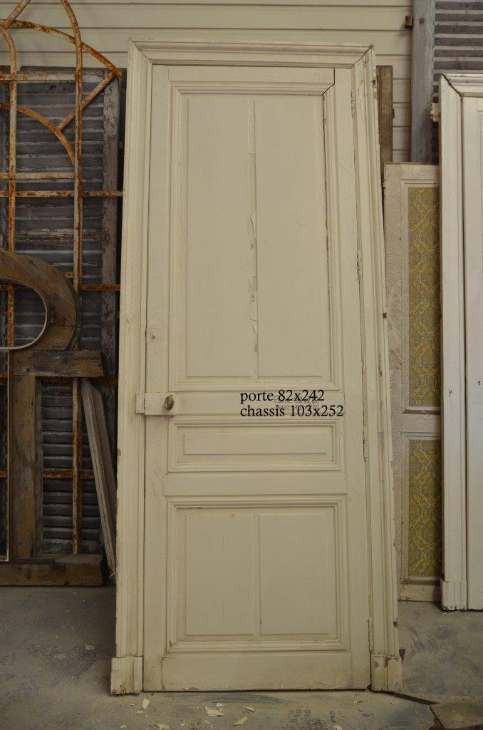 Porte Ancienne De Placard En Sapin Ancien Authentique