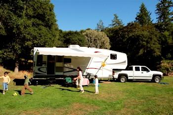 5th Wheel Camping