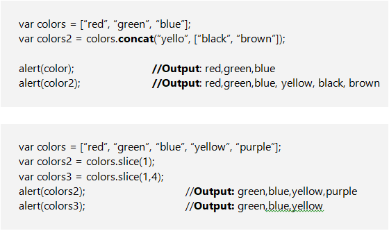 Reference Type in JavaScript - concat(), slice() & splice ...