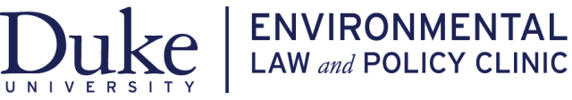 Duke Environmental Law and Policy Clinic logo - Nonprofit Causes