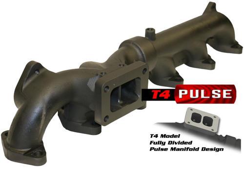 bd diesel exhaust manifold t4 mount dodge 2007 5 2019