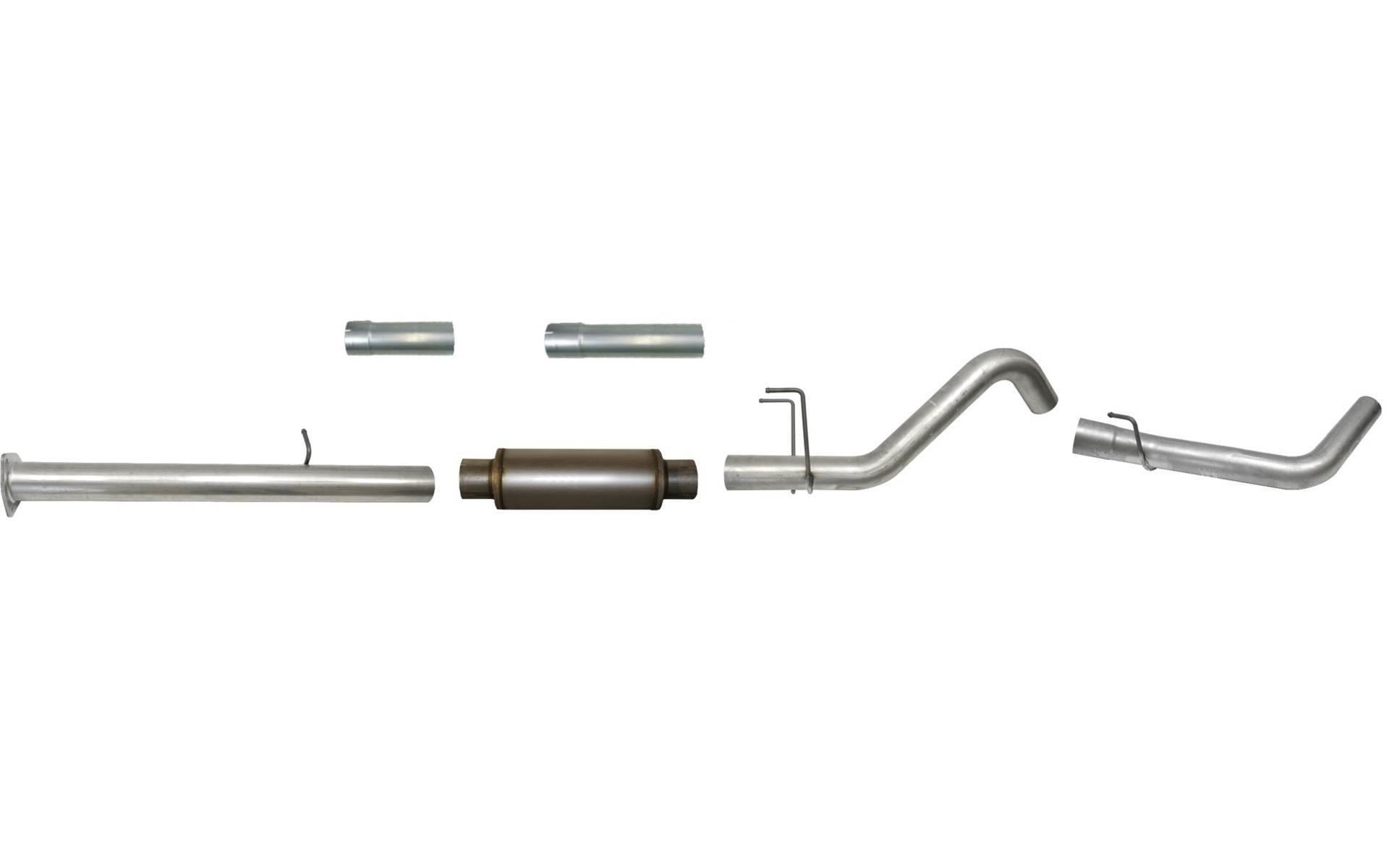 Ss Flo Pro 4 Down Pipe Back Exhaust