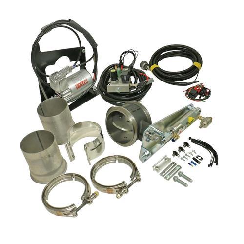 bd diesel exhaust brake kit remote mount w 4 exhaust dodge 2006 2007