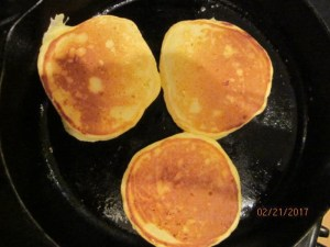 Pancakes - flip only once for best results
