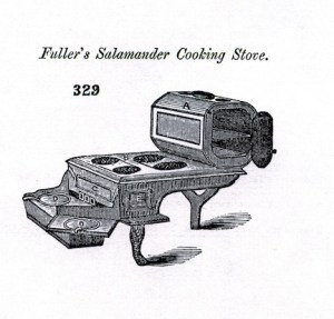 Possible version of Ruth Adam's stove