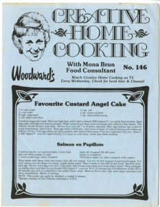 Mona Brun Home Cooking newsletter