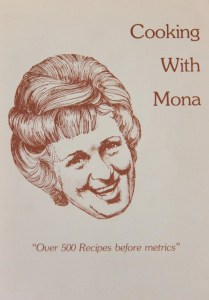 "Cover of ""Cooking with Mona"" - Woodwards'"