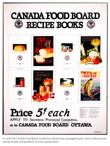 Canada Food Board Recipe Books