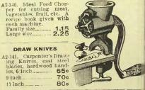 1909-10 Eatons catalogue food chopper