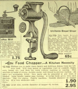 1920-21 Eatons Catalogue home grinder