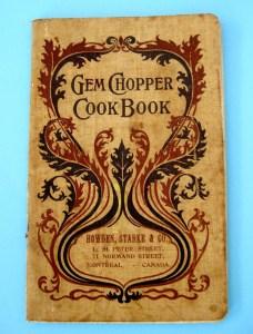 Cover of Gem Chopper Cook Book