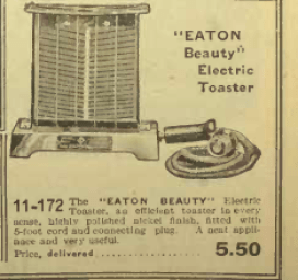 Eaton beauty electric toaster