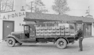Thorpe's Soda Delivery Truck c. 1930