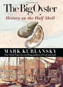 Oysters - History on the Half Shell book cover - M. Kurlansky