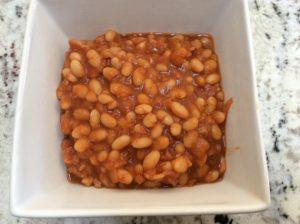 Homemade version of pork and beans using BestOVall recipe