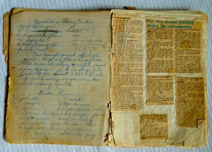 Recipe scrapbooks