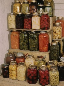 Canning and preserved foods