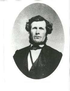 Joel Palmer. Image courtesy Oregon Historical Society