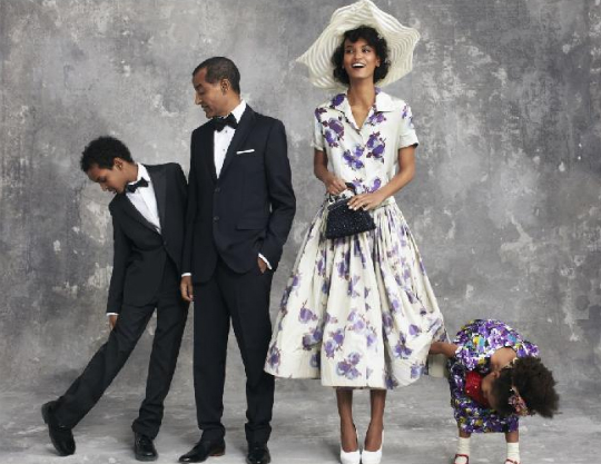 LIYA KEBEDE AND FAMILY ARE IN VOGUE