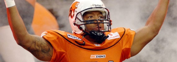 Geroy Simon. Photo Credit: CFL.ca