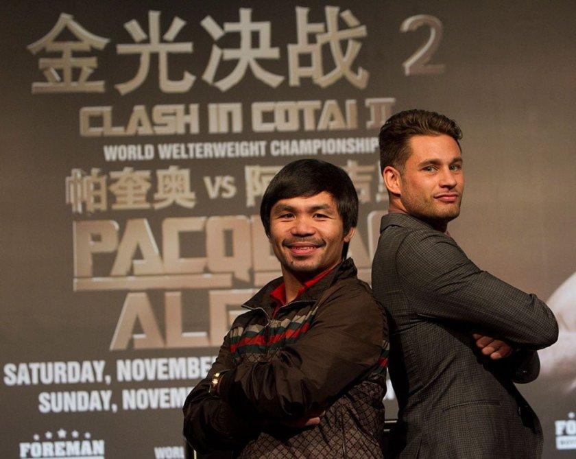 Clash in Cotai II - Manny Pacquiao v Chris Algieri @ Venetian Macau - 8am, 23 November, 2014