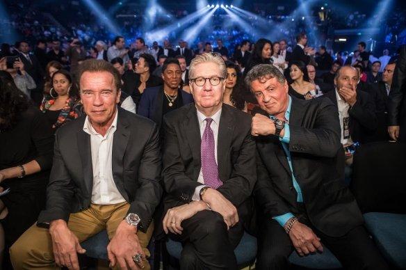 Sylvester Stallone, Arnold Schwarzenegger, Ed Tracy 2